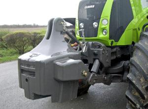 Litinové traktorové závaží